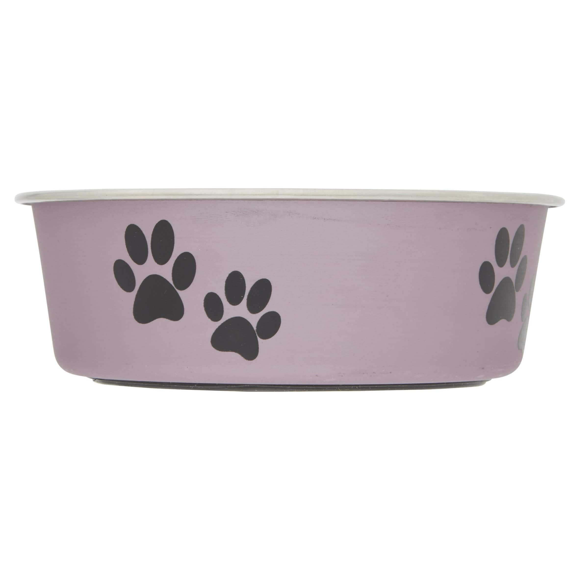 Loving Pets Metallic Bella Bowl (Small, Grape) $1.75 + Free Shipping w/ Prime
