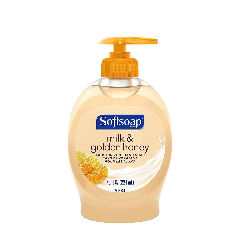 6-Pack 7.5-Oz Softsoap Liquid Hand Soap (Milk & Honey) $5.59 w/ S&S + Free S/H