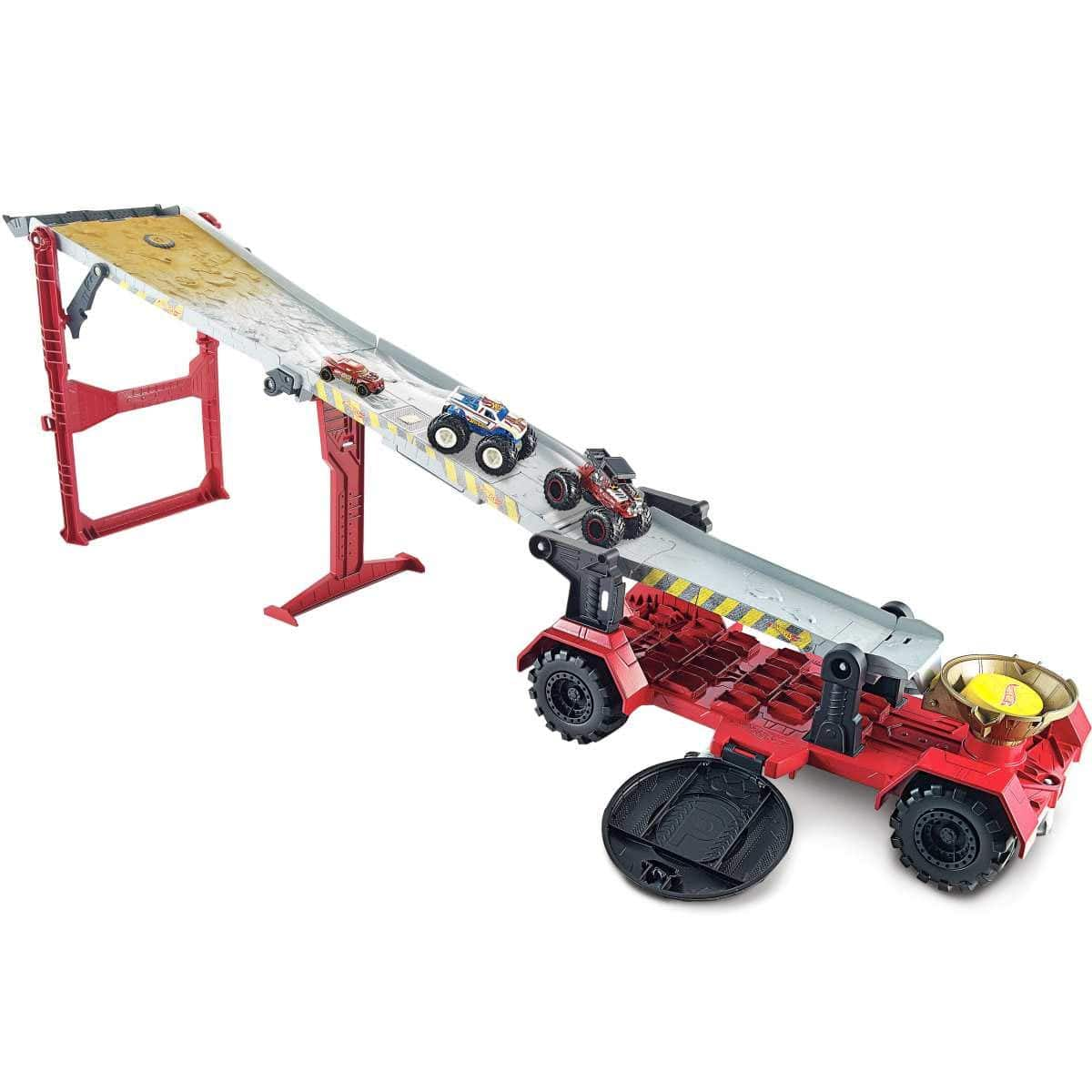 Hot Wheels Monster Trucks Downhill Race & Go Playset $24 at Walmart w/ Free Store Pickup or Free Shipping w/ Prime
