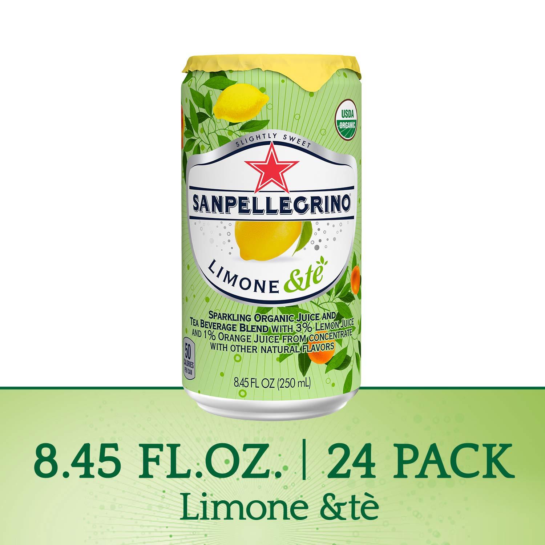24-Pack 8.45-Oz San Pellegrino Sparkling Organic Juice & Tea Beverage (Limone &te) $8.69 w/ S&S + Free S&H