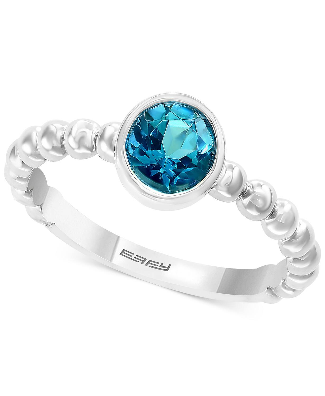 EFFY Sterling Silver Statement Ring (Blue Topaz or Citrine) $69 + Free Shipping