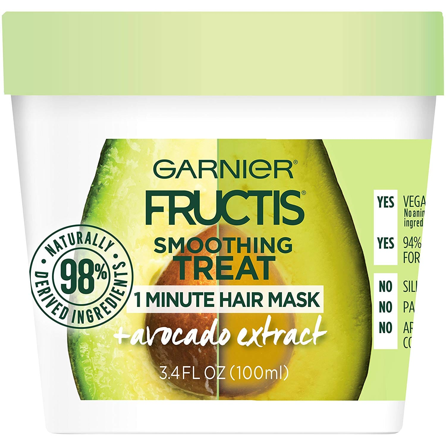 3.4-Oz Garnier Fructis 1 Minute Hair Conditioner Mask w/ Avocado Extract $1.90 w/ S&S + Free S&H