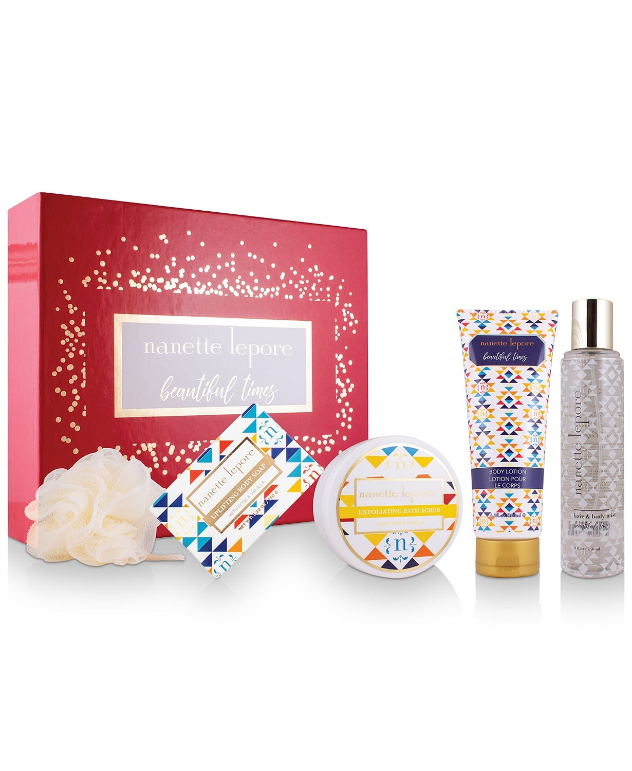 5-Pc Nanette Lepore Gift Set $20, 5-Pc Clinique Full-Size Lip Set $18.75 & More + Free S/H on $25+