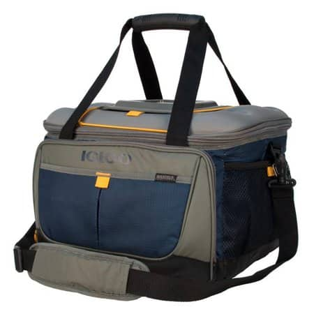 50-Can Igloo Outdoorsman Collapsible Cooler (Blue/Tan) $23 at Walmart w/ Free Store Pickup