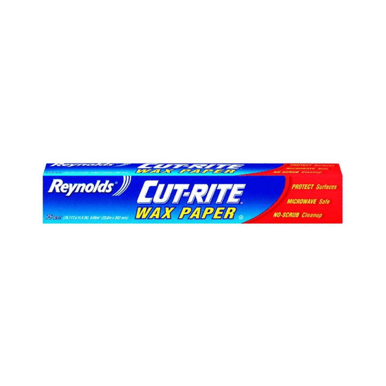 75 Sq. Ft. Reynolds Cut-Rite Wax Paper $1.29 w/ S&S + Free S/H