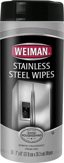 30-Count Weiman Stainless Steel Wipes or Cook Top Wipes $3 at Best Buy w/ Free Store Pickup