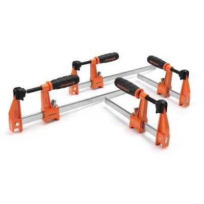 """4-Pack Jorgensen 3700 Series Bar Clamps (2x 6"""" + 2x 12"""") $19 + Free Store Pickup at Lowe's YMMV"""
