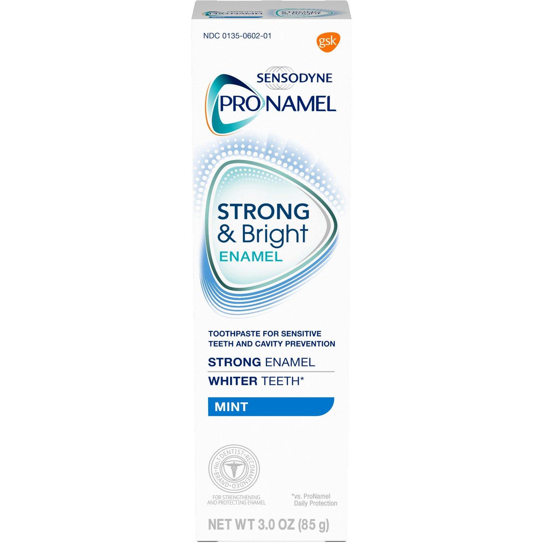 3-Oz Sensodyne Pronamel Strong & Bright Enamel Toothpaste (Mint)