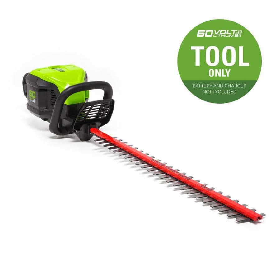 Greenworks Pro 60-volt Max 26-in Dual Cordless Electric Hedge Trimmer (Battery Not Included) at Lowe's w/ Free Store Pickup $74.50