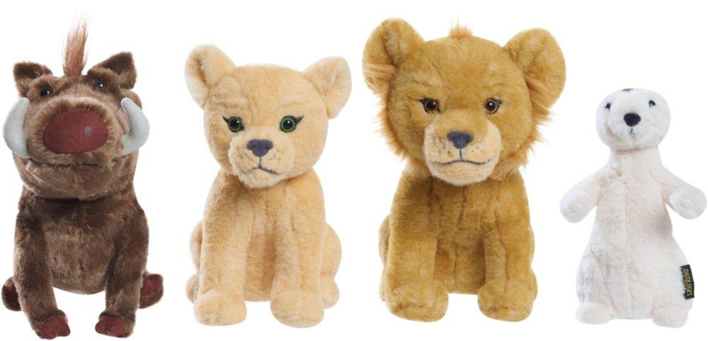 "Disney The Lion King 8"" Stuffed Animal Plush Toy (Simba, Nala, Timon, Pumbaa) $4.50 at Best Buy w/ Free Store Pickup"