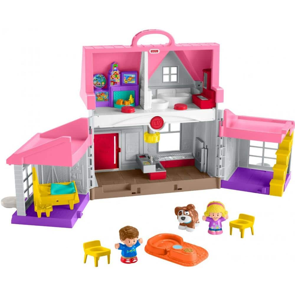 Fisher-Price Little People Big Helpers Home w/ Interactive Sounds $21 at Walmart w/ Free Store Pickup