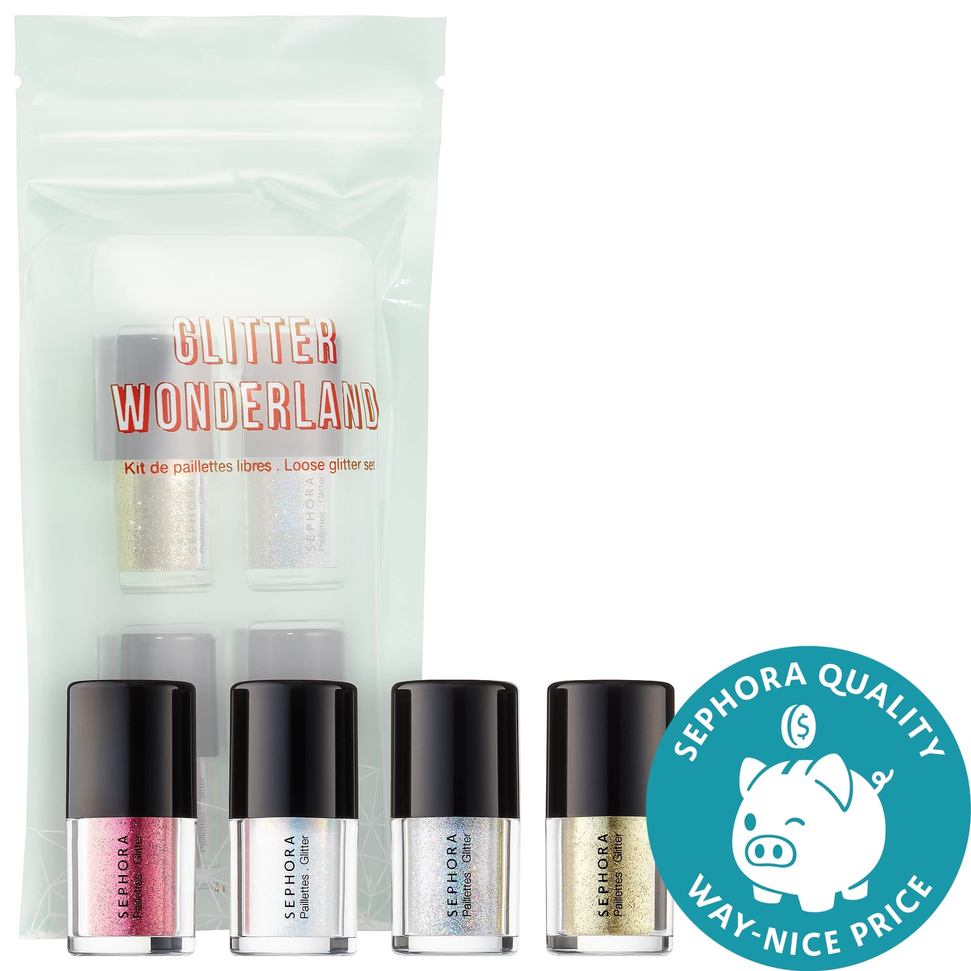 Sephora Collection Glitter Wonderland Set for Eyes + 2 Free Samples $4 w/ Free Shipping