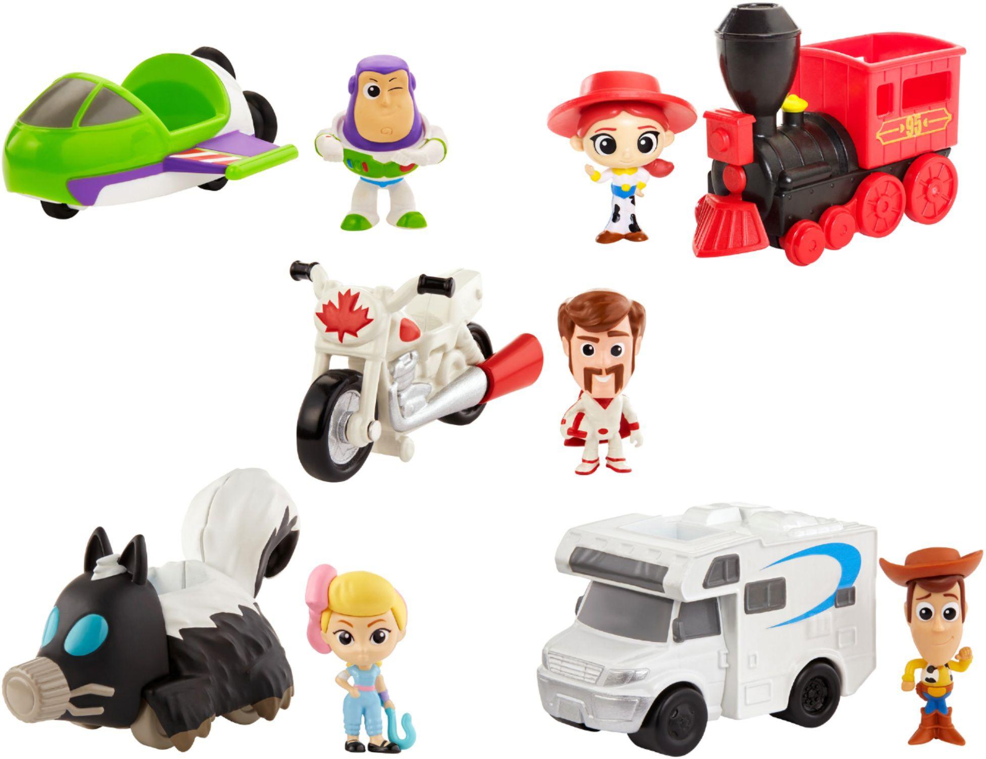 Disney Pixar Toy Story 4 Mini Figure with Vehicle (Various Styles) $3 at Best Buy w/ Free Curbside Pickup