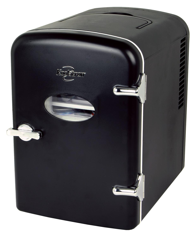 Koolatron 6 Can AC/DC Personal Retro Electric Mini Cooler/Mini Fridge (Black, Green, Pink) $29 at Walmart w/ Free Ship on $35+