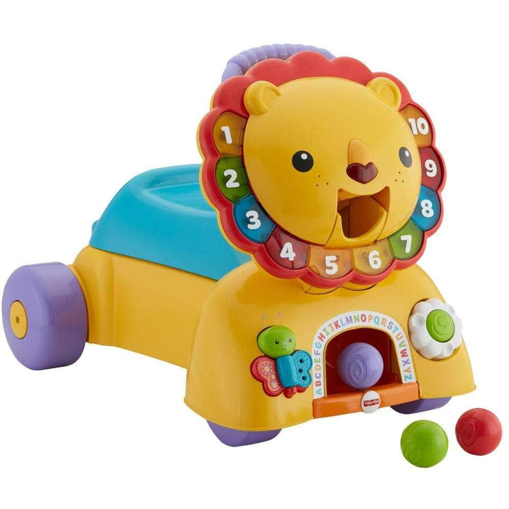 Fisher-Price 3-in-1 Sit, Stride & Ride Interactive Lion Toy $35 + Free Shipping
