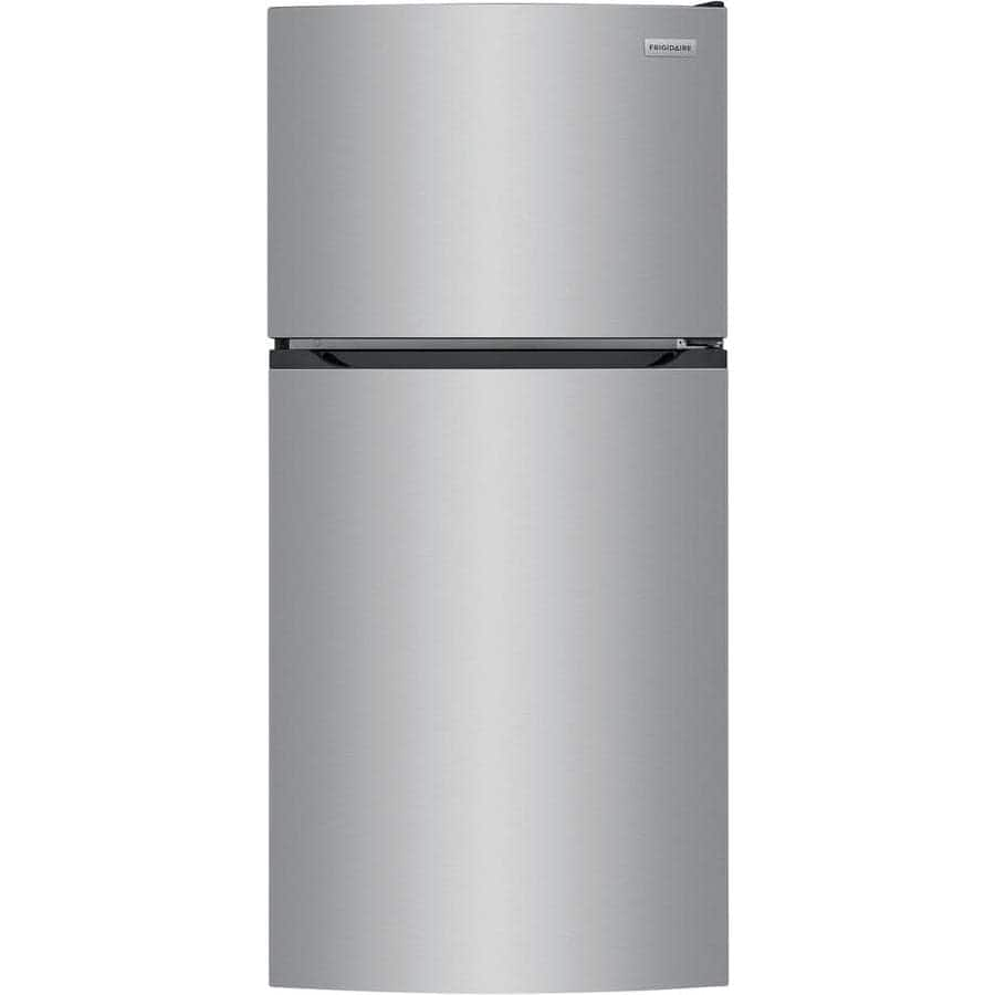 13.9 Cu Ft. Frigidaire Top-Freezer Energy Star Refrigerator (Brushed Steel) $479 + Free Shipping