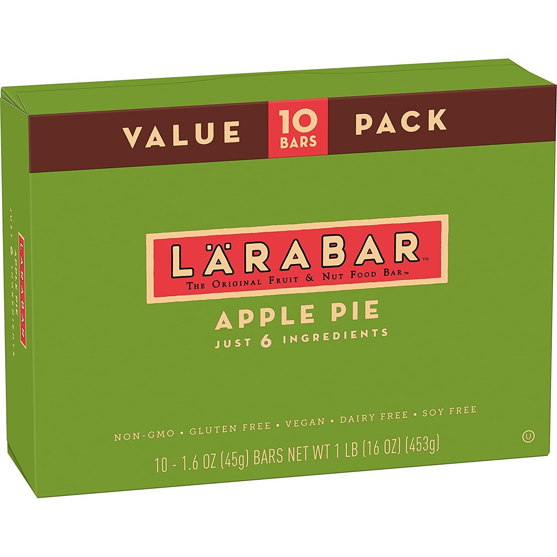 10-Count Larabar Gluten Free Bar (Apple Pie) $6.60 w/ S&S + Free Shipping w/ Prime or $25+
