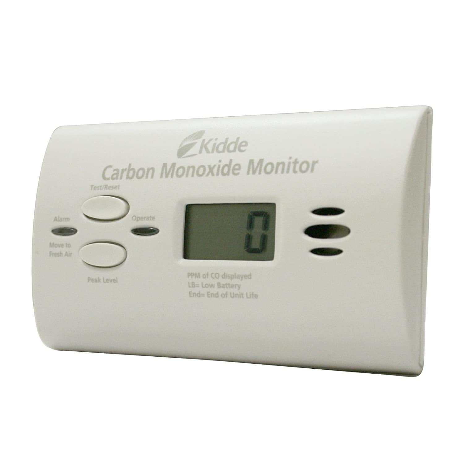 Kidde Ultra-Sensitive Battery Powered Carbon Monoxide Monitor $29.15 + Free Shipping