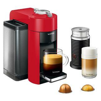 Nespresso Vertuo Coffee & Espresso Maker by De'Longhi with Aeroccino (Red) $124.50 + Free Shipping