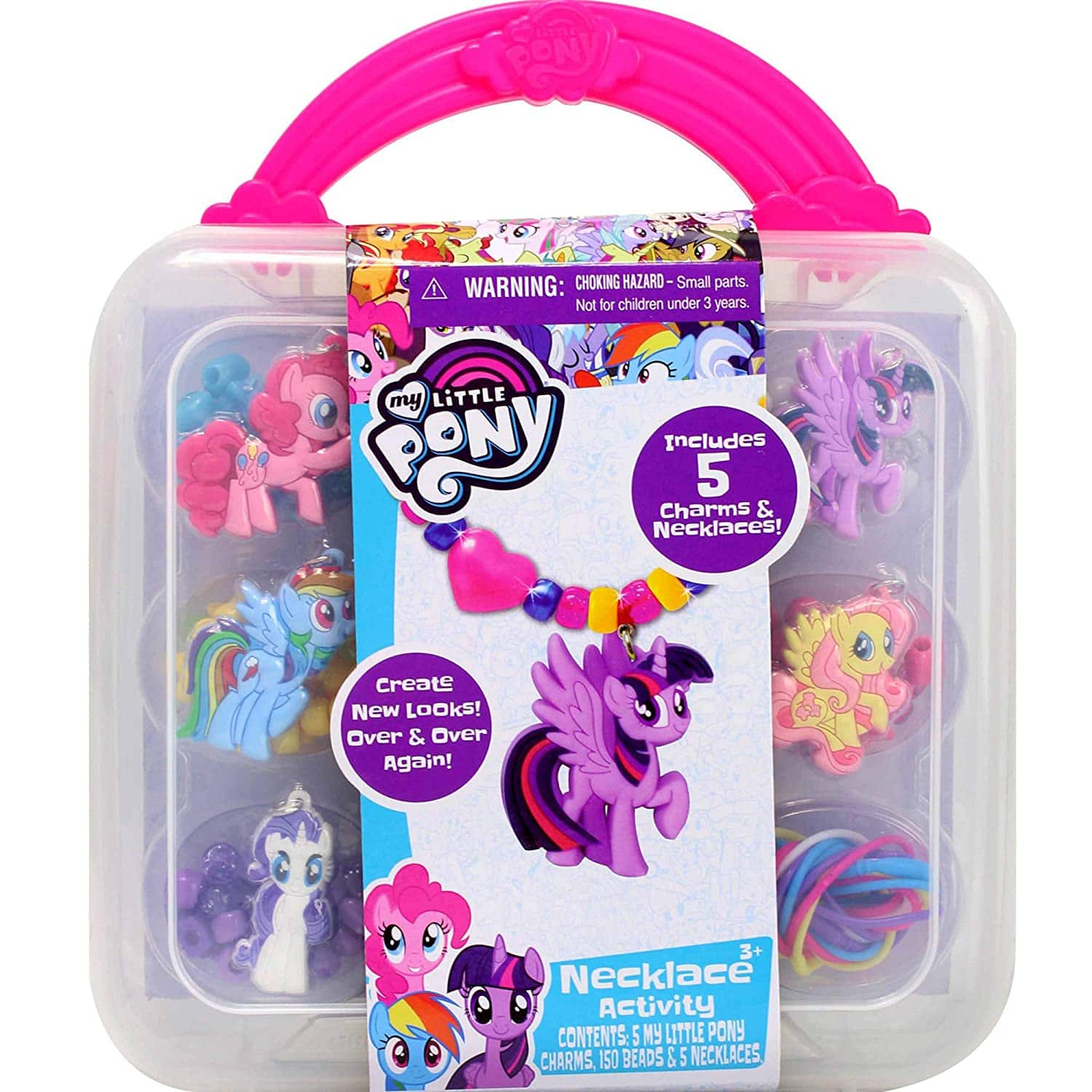 My Little Pony Necklace Activity Set (5 Necklaces) $6.50 + Free Shipping w/ Prime