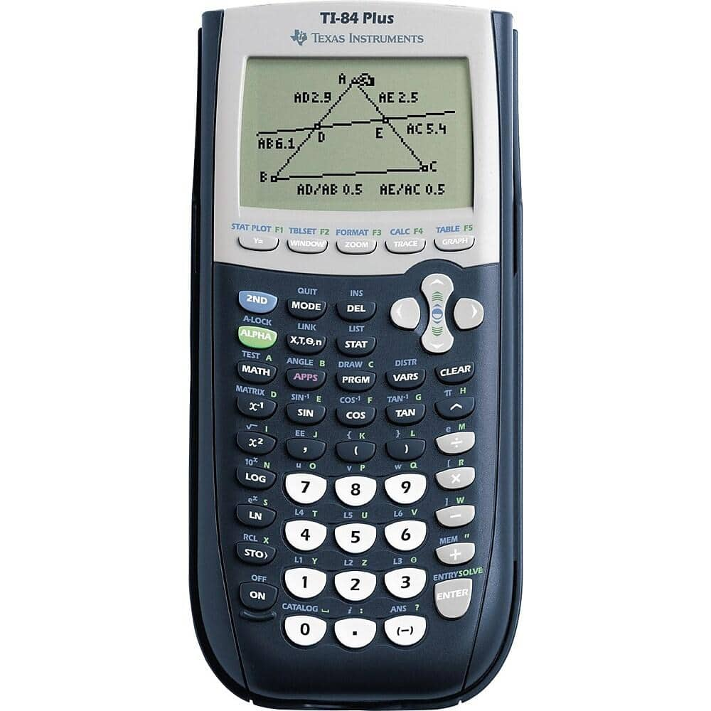 Texas Instruments TI-84 Plus Graphing Calculator $88 + Free Shipping