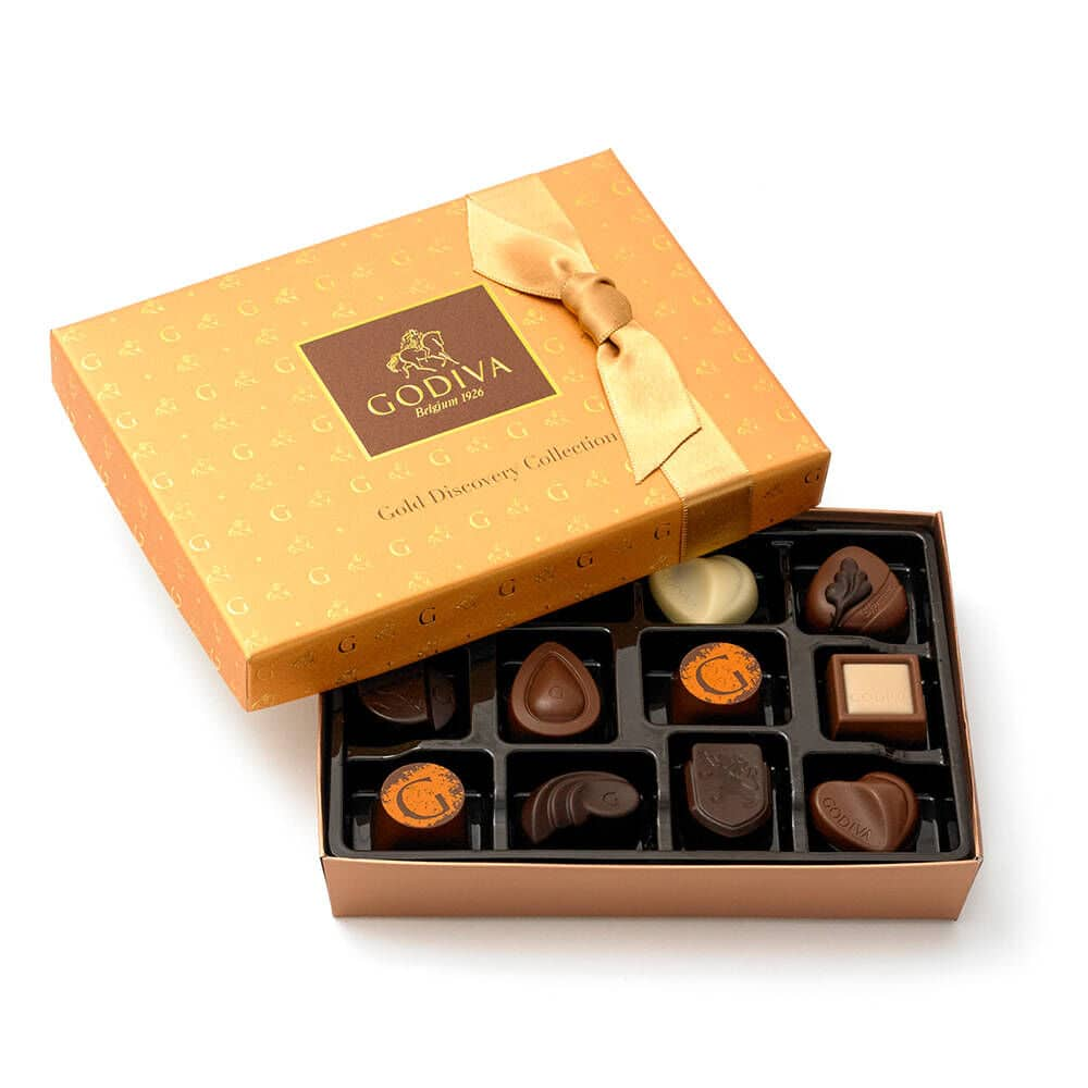 12-Piece Godiva Gold Discovery Chocolate Gift Box Set $15 at Macy's w/ Free S&H on $25+