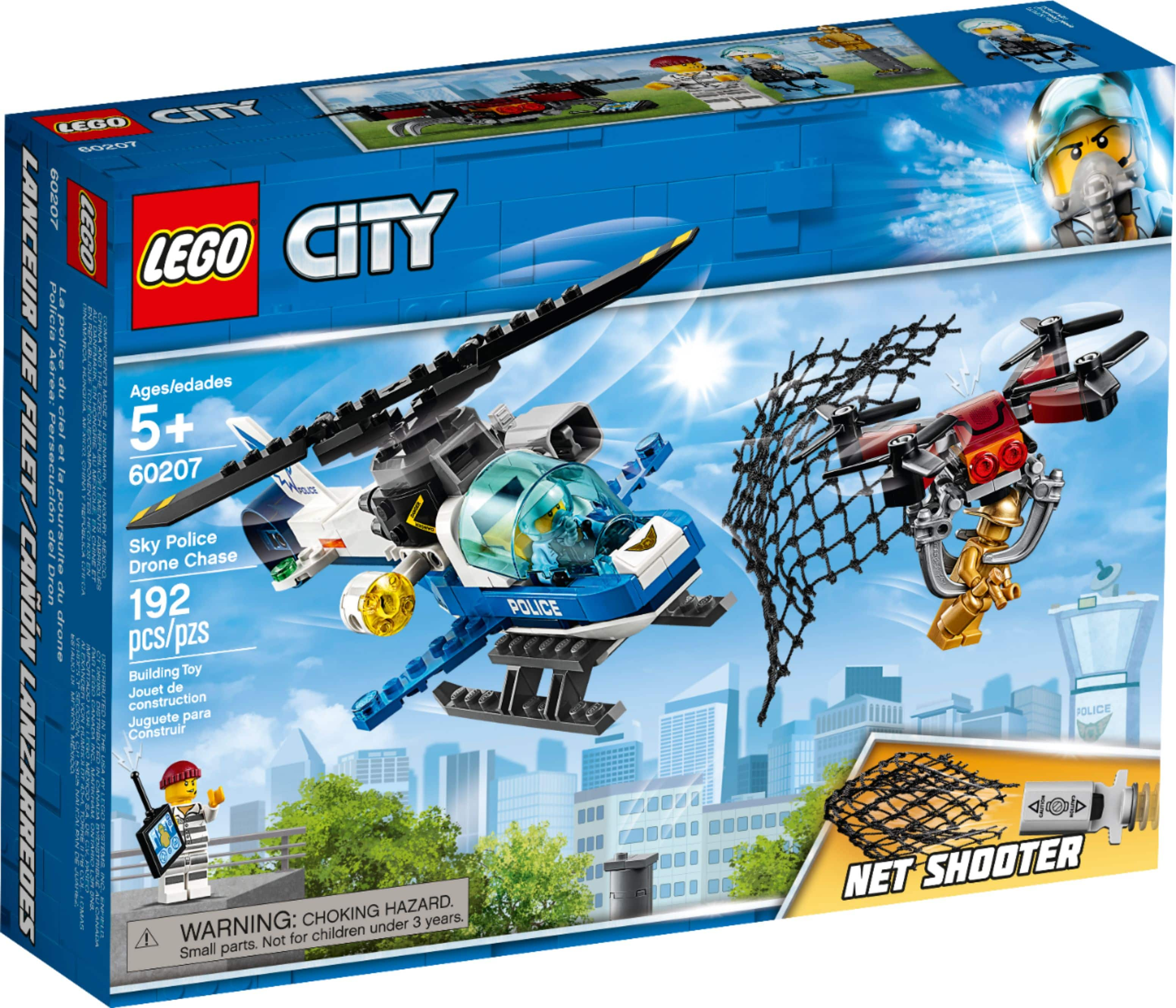 LEGO City Sky Police Drone Chase 60207 $20 at Macy's + Free S&H on $25+