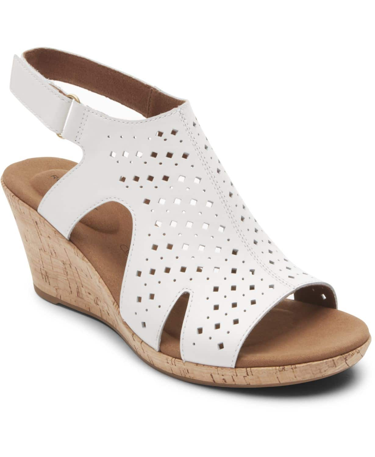 Macy's Womens Sandal Clearance: Rockport Briah Wedges $25, Lucky Brand Gabrien Wedges $20, DKNY Cat Espadrille $30 & More + Free S&H on $25+