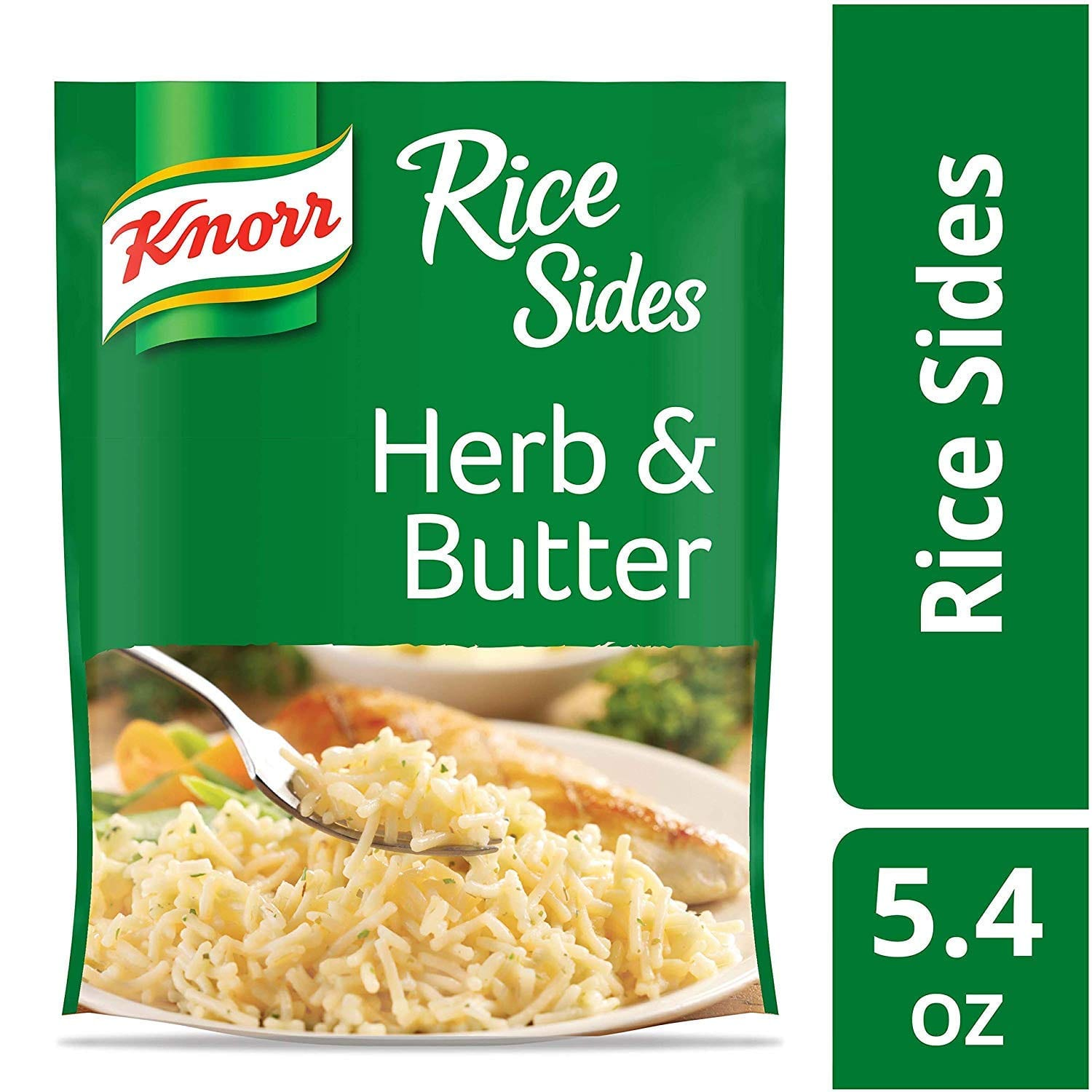 8-Pack Knorr Rice Side Dish (Herb & Butter) $7.15 w/ S&S + Free S&H w/ Prime or $25+