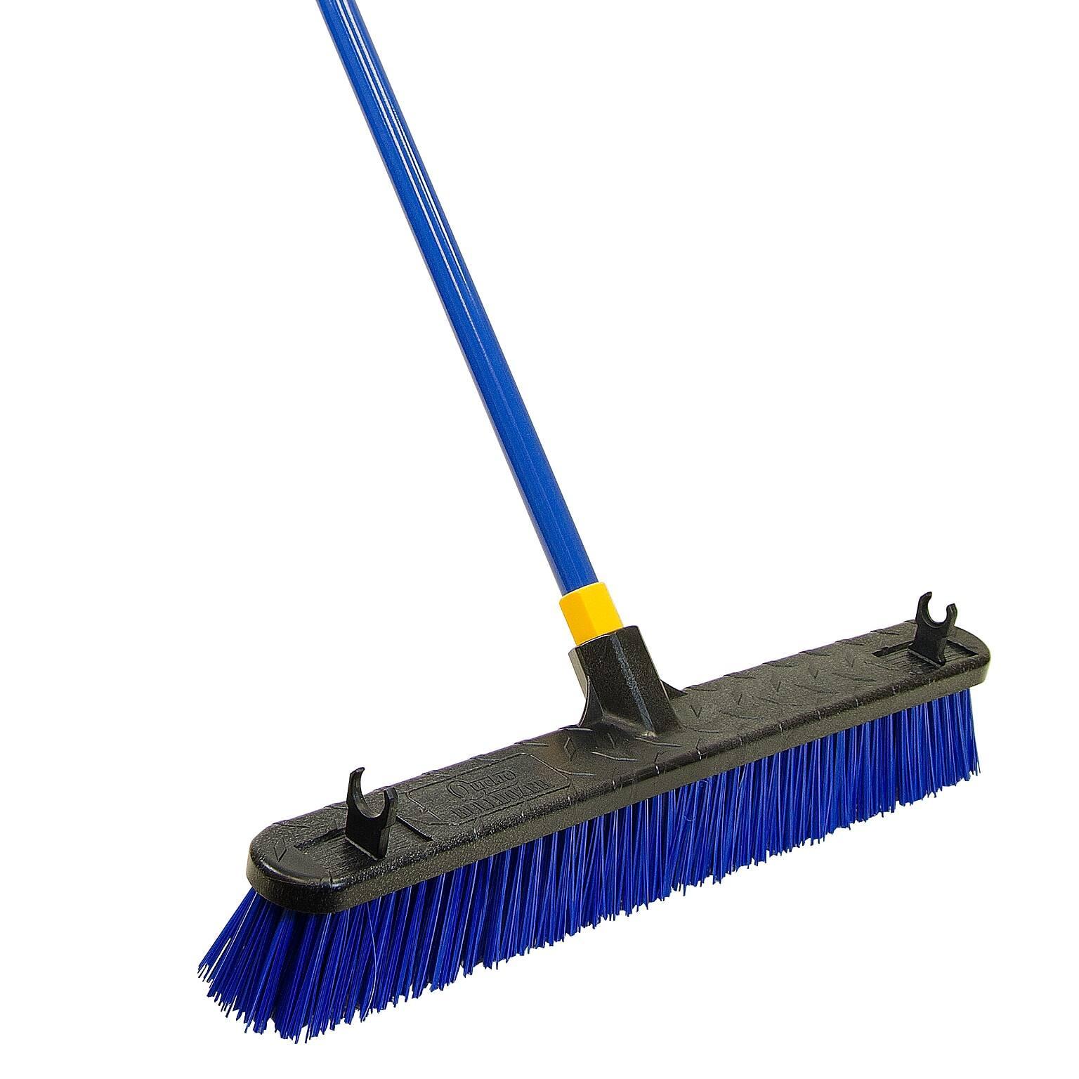 "*Back* Quickie Bulldozer 24"" Rough Surface Push Broom $7.85 + Free Shipping"