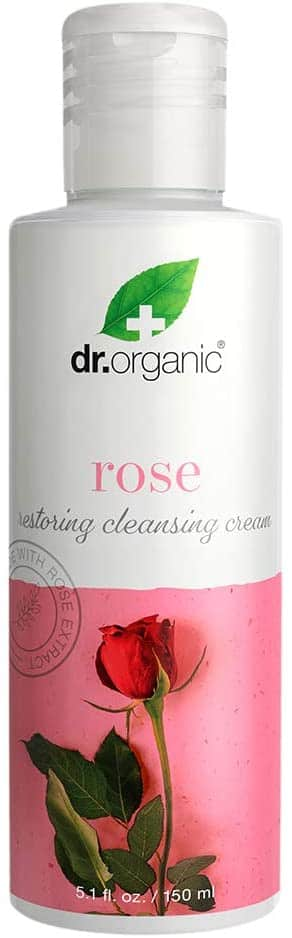 5.1-Oz Dr.Organic Restoring Cleansing Cream with Organic Rose Extract $2.50 w/ S&S + Free S&H w/ Prime or $25+