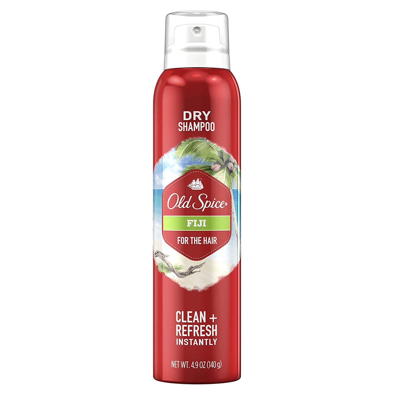 4.9-Oz Old Spice Dry Shampoo for Men (Fiji) $2.80 w/ S&S + Free S&H w/ Prime or $25+