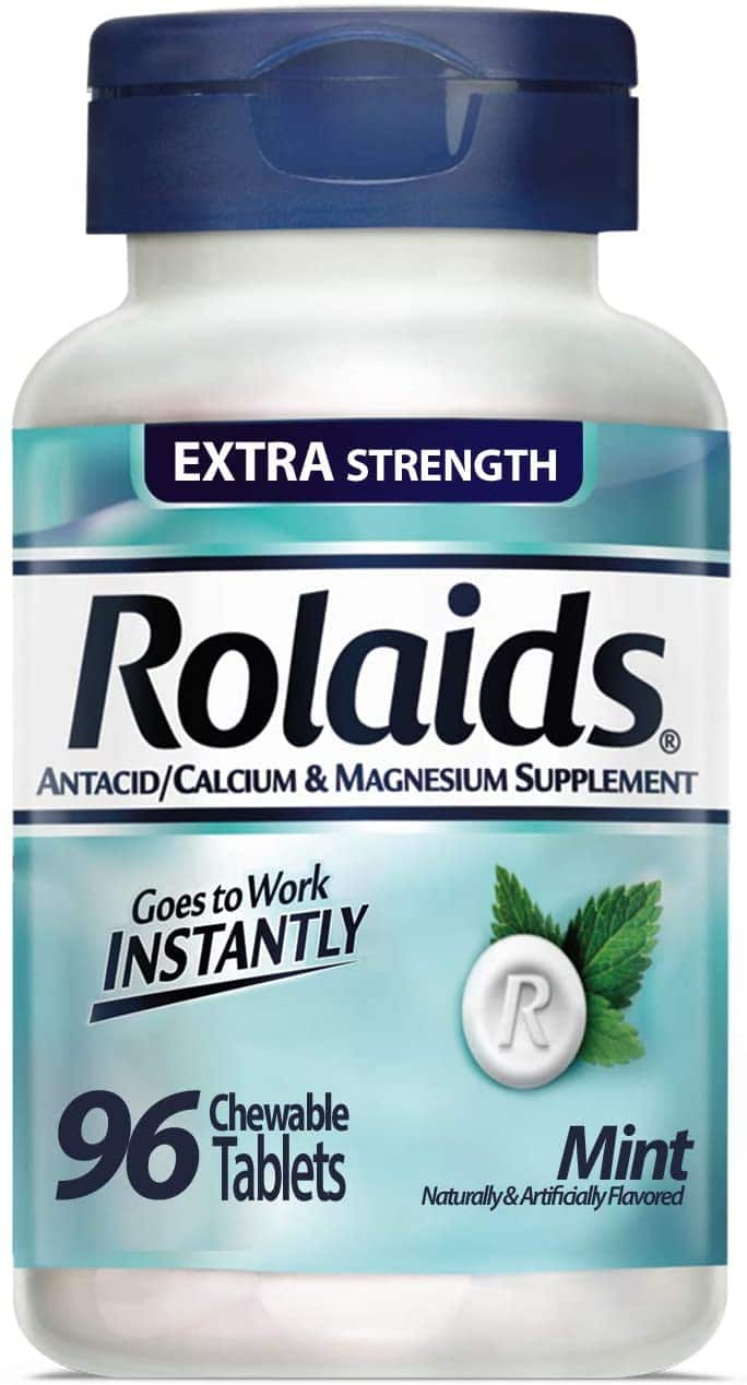 96-Count Rolaids Extra Strength Tablets (Mint) $3.30 w/ S&S + Free S&H w/ Prime or $25+