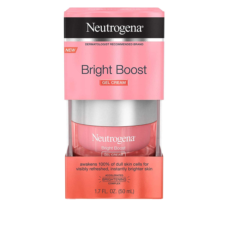 1.7-Oz Neutrogena Bright Boost Gel Cream Brightening Moisturizer $11.30 w/ S&S + Free S&H w/ Prime or $25+