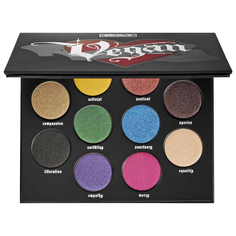 Sephora KVD Vegan Beauty Sale: 10-Shade Eyeshadow Palette $10.75 & More + Free Shipping