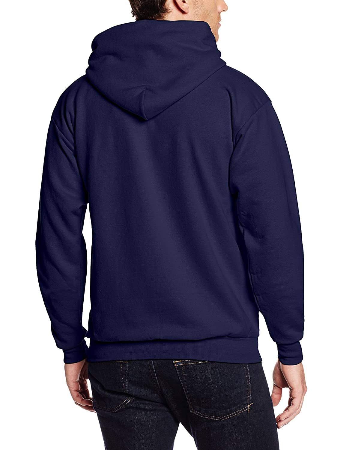 Hanes Men's Pullover Ecosmart Fleece Hooded Sweatshirt (Navy) $7.50 + Free Shipping w/ Prime or $25+