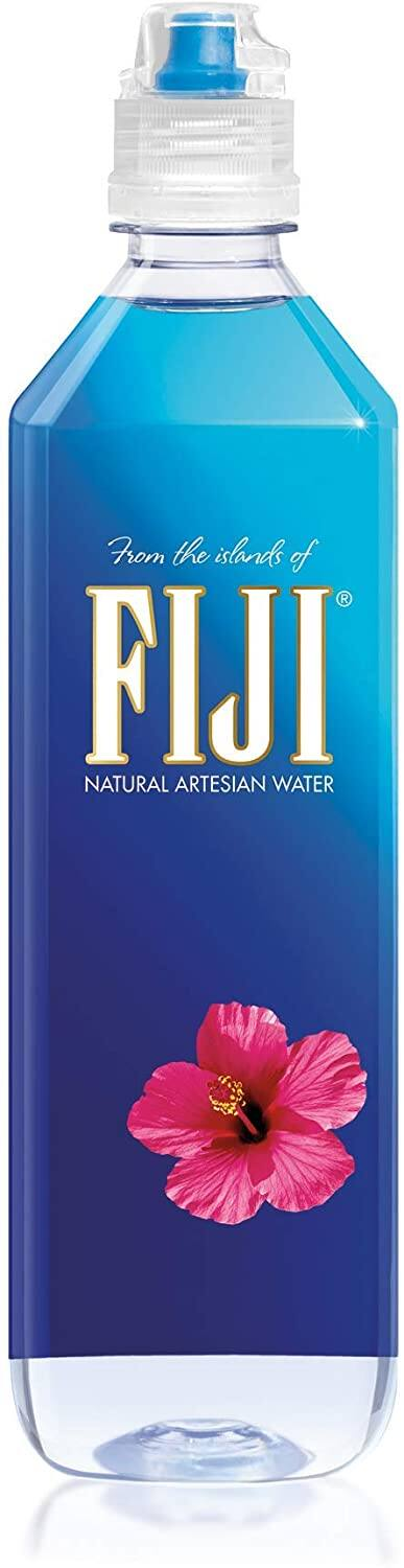 12-Pack 23.7-Oz Fiji Natural Artesian Water $14.25 w/ S&S + Free S&H w/ Prime or $25+
