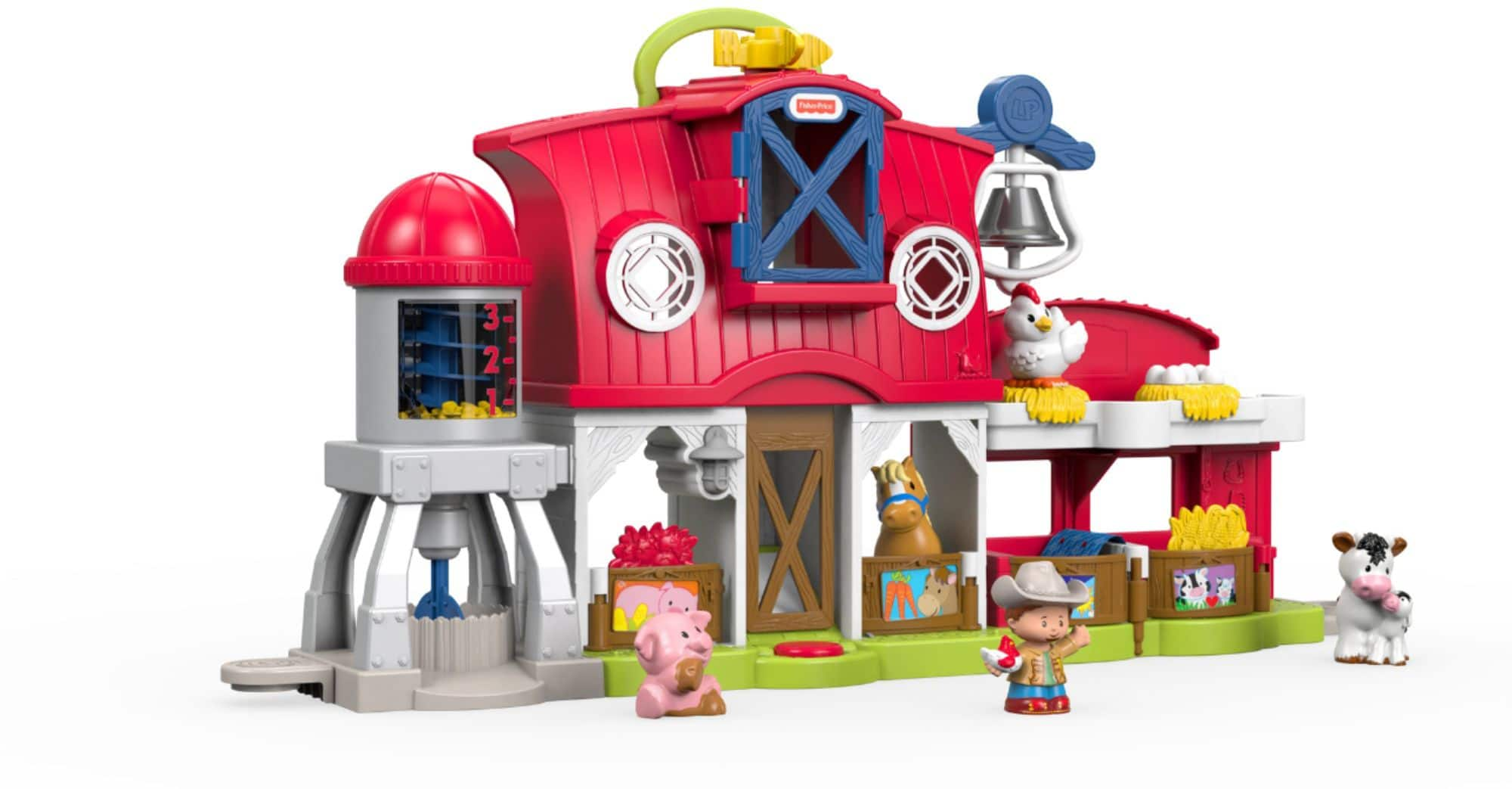 Fisher-Price Little People Caring For Animals Farm Set $25 at Best Buy w/ Free Curbside Pickup