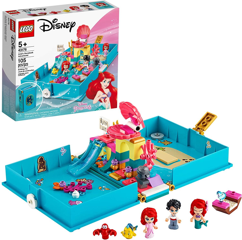 LEGO Disney Storybook Adventures Building Kits (Ariel, Belle, Mulan) $16 + Free S&H w/ Prime or $25+