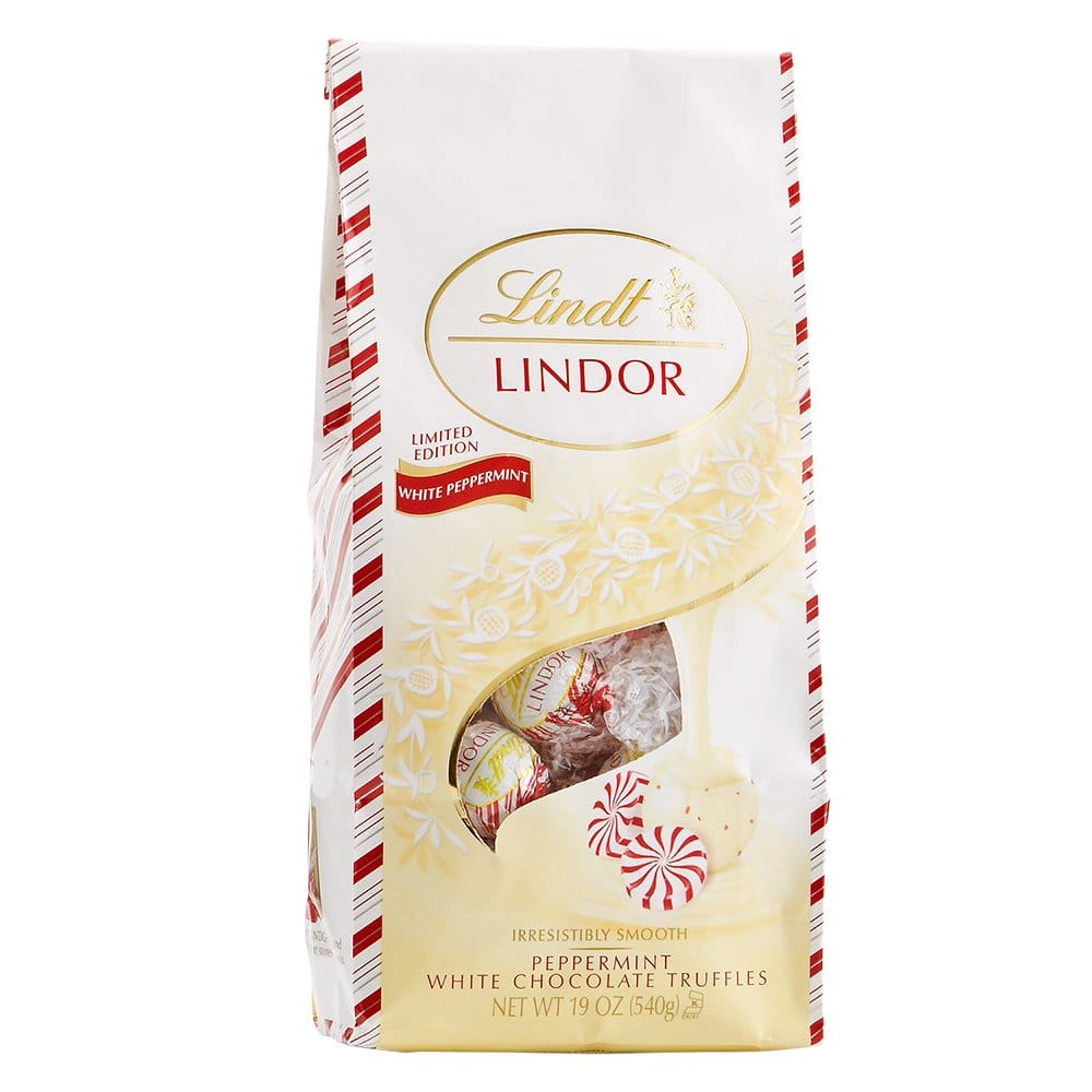 19-Oz Lindt Holiday Truffles (White Chocolate Peppermint)  $8.75 + Free Shipping w/ Prime or $25+