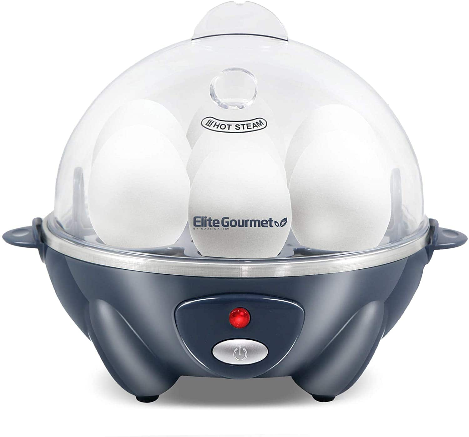 Elite Gourmet 7-Egg Easy Electric Poacher (Grey Blue or Mint) $12.79 + Free Shipping w/ Prime or $25+