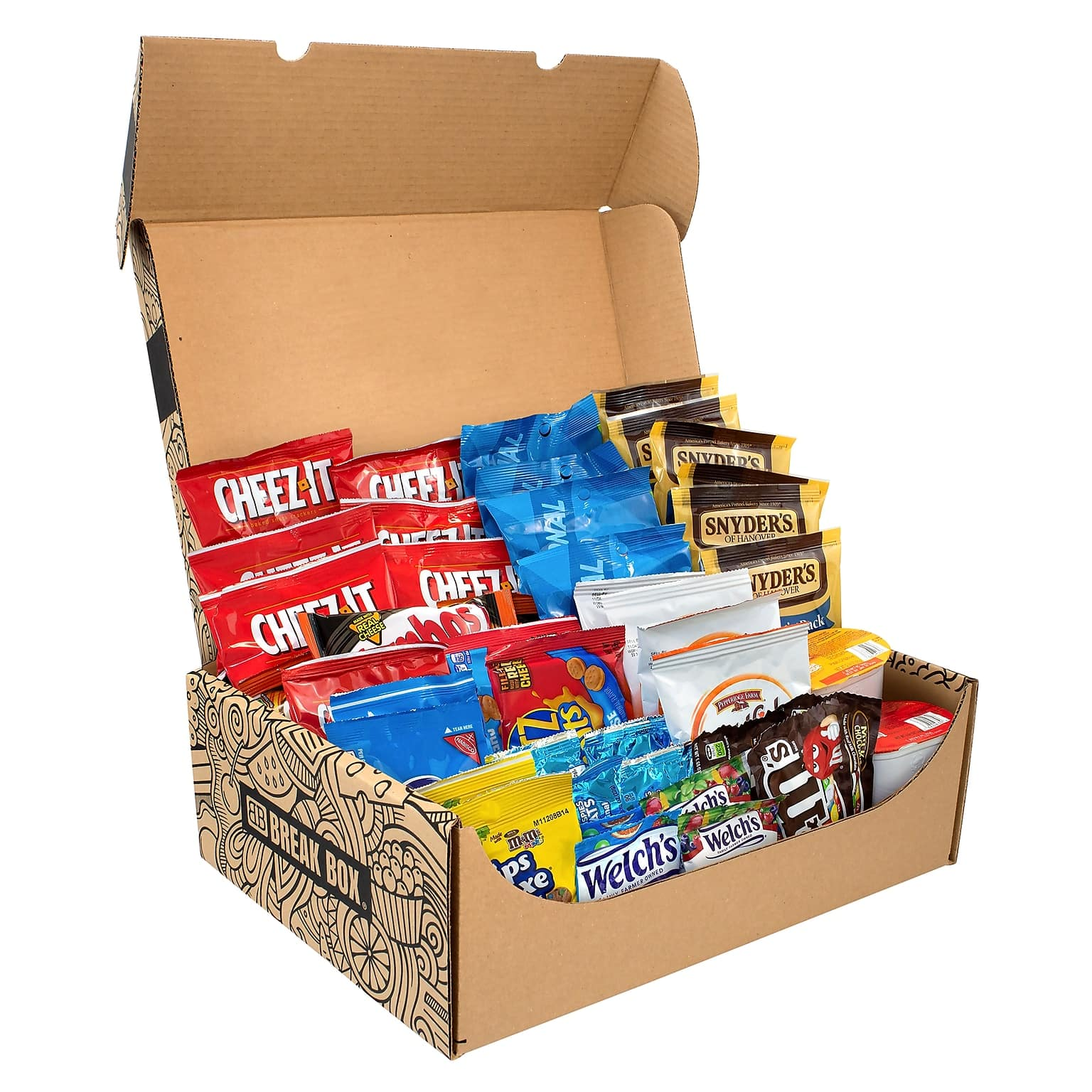 55-Count Break Box Dorm Room Survival Snack Mix (Assorted) $24.15 + Free Shipping & More