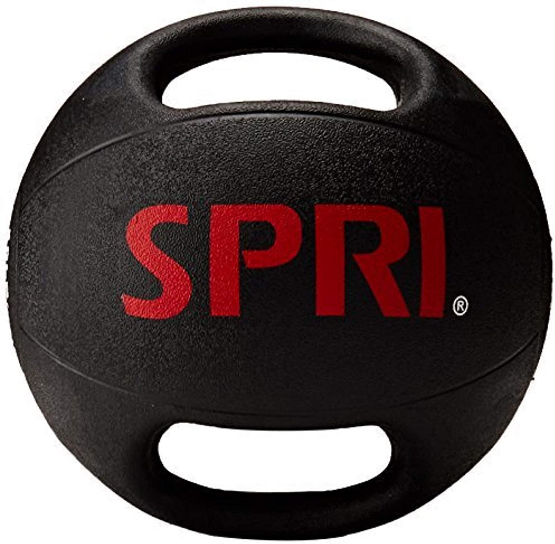 6-Lb SPRI Dual Grip Medicine Ball $24.50 + Free Shipping