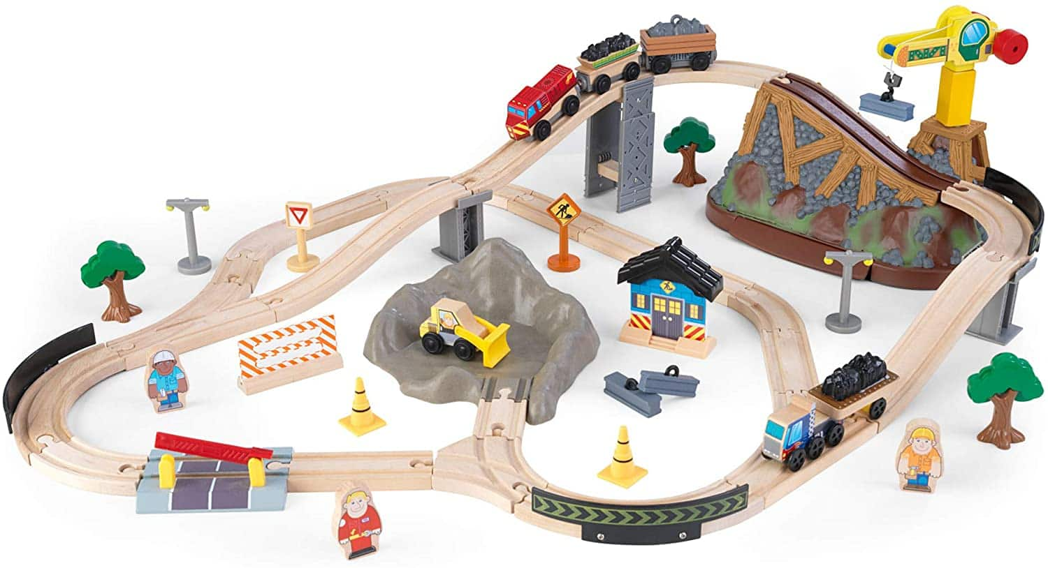 61-Piece KidKraft Bucket Top Construction Train Set $21.65 + Free Shipping w/ Prime or $25+