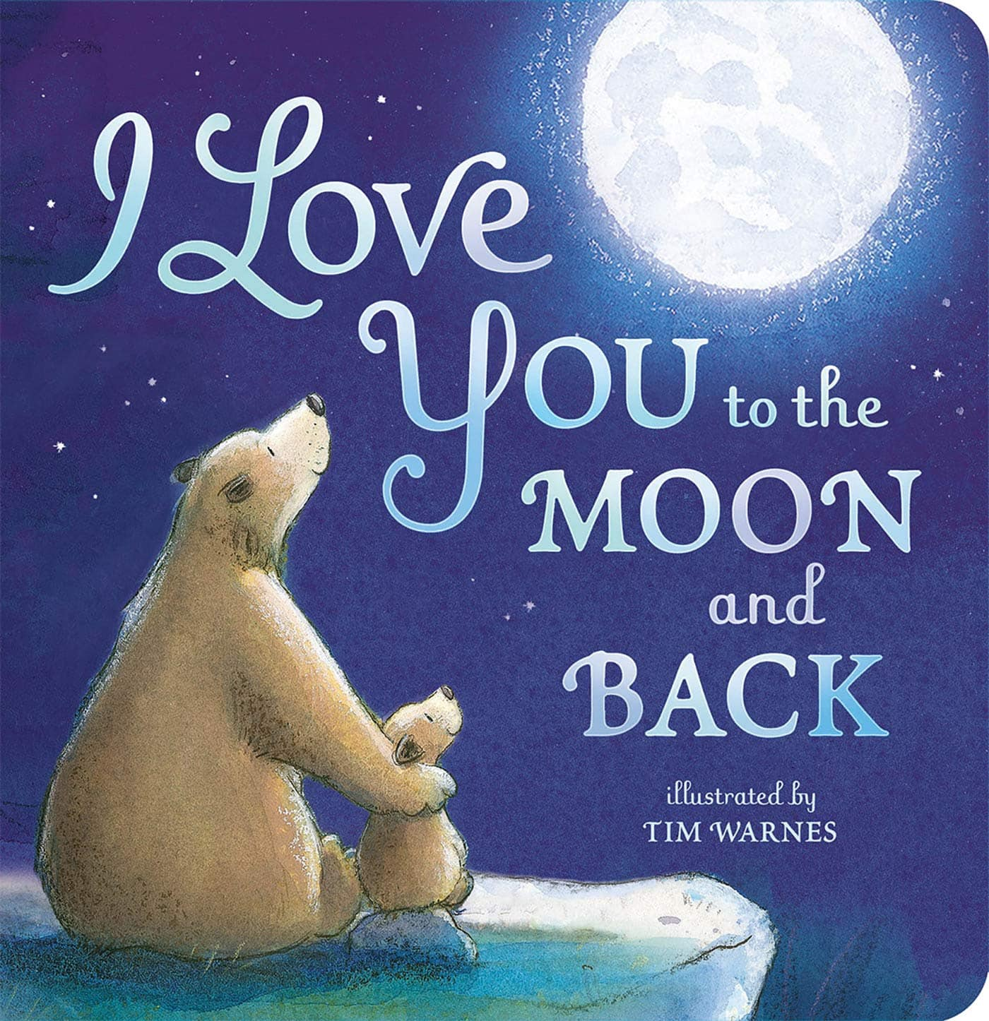 Children's Board Books: I Love You to the Moon and Back, If Animals Kissed Good Night $3.60 each & More