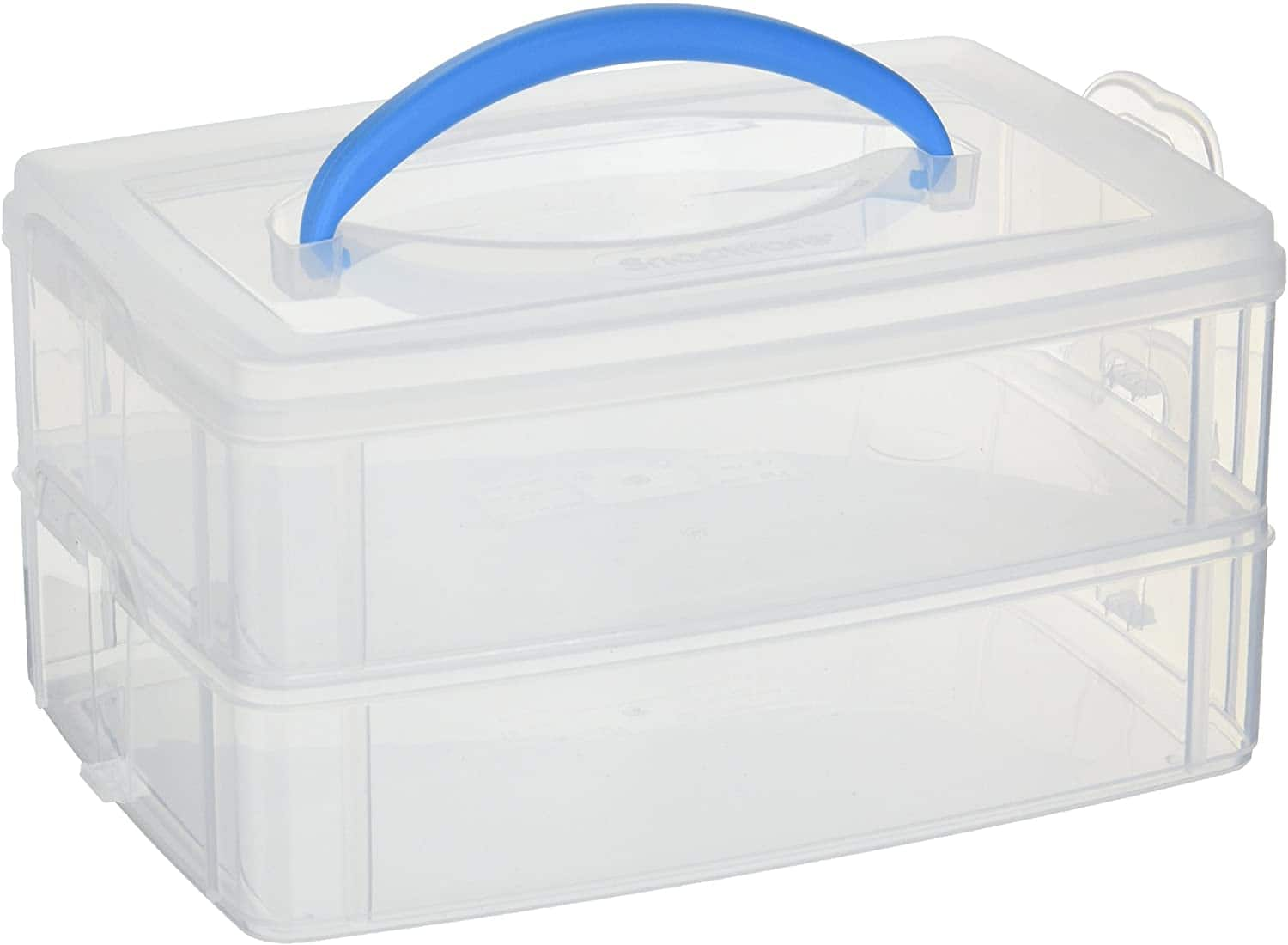"Snapware Snap 'N Stack Portable Organizer (9.8"" x 6.6"" x 2.5"") $5.45 + Free Shipping w/ Prime or $25+"