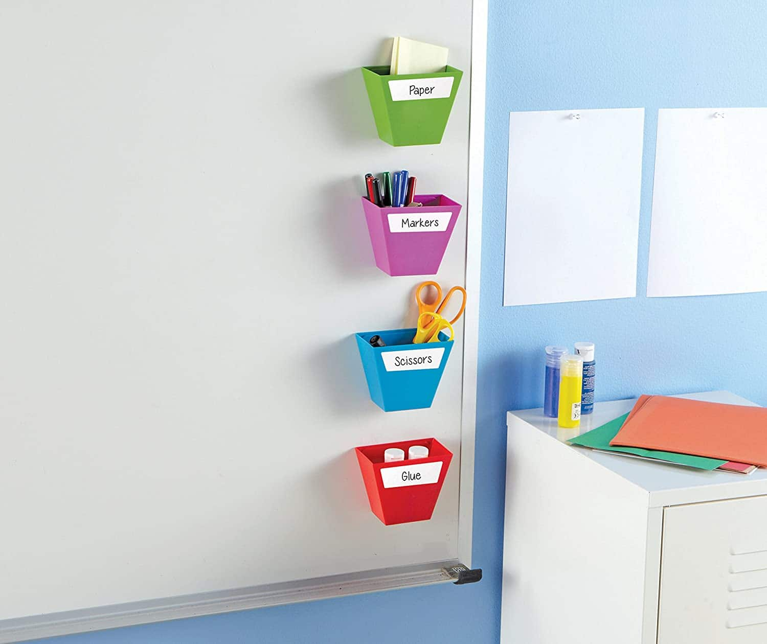 4-Pack Learning Resources Create-a-Space Magnetic Storage Bins $5 + Free Shipping w/ Prime or $25+