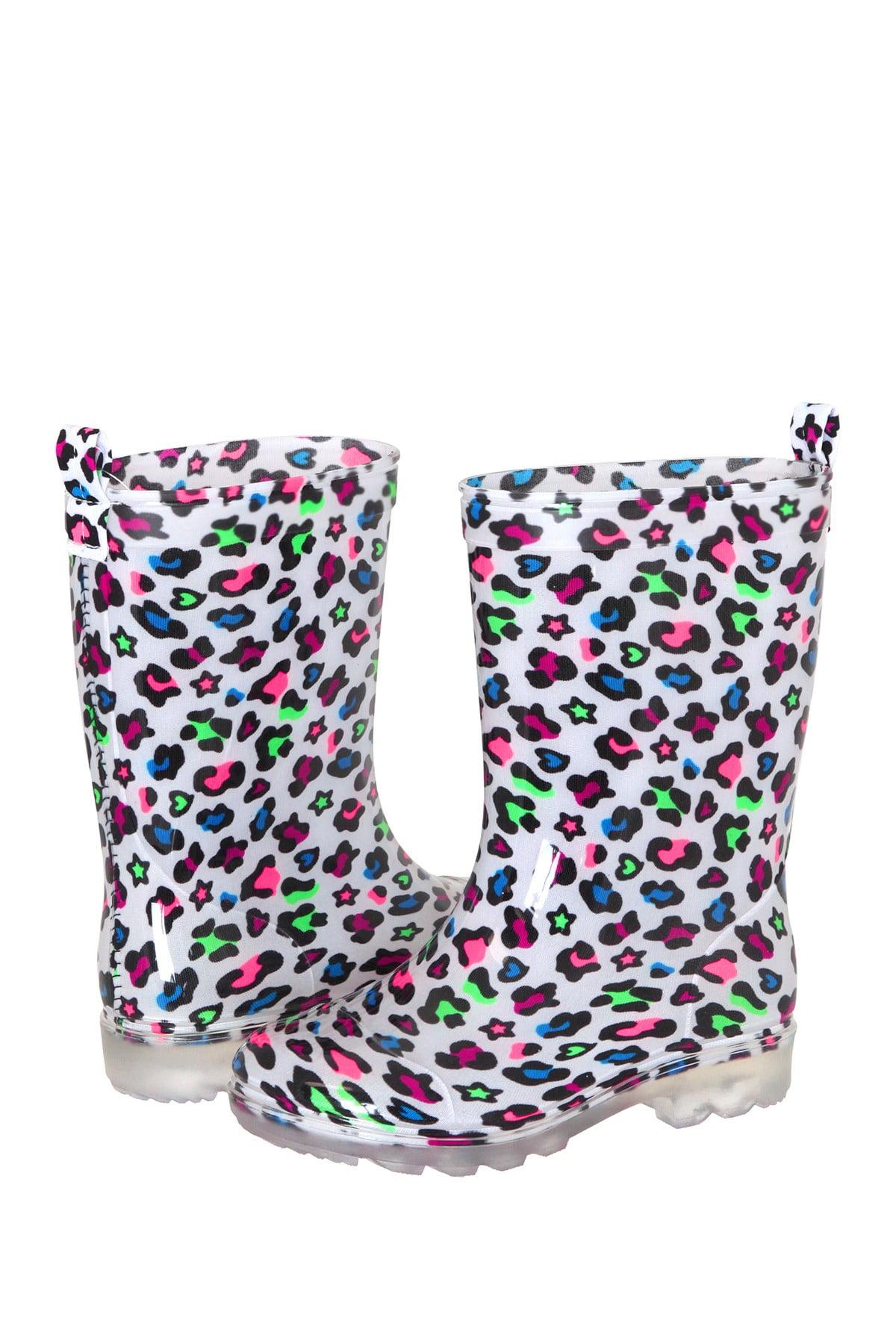 Capelli of New York Kids' Rain Boots (Dinosaur, Camo, Mermaid, Seashells, Hearts & Stars) $7.65 at Nordstrom Rack w/ Free Store Pickup