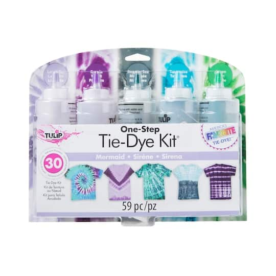Tulip One-Step Tie-Dye Kit (Mermaid or Shibori) $10 at Michaels w/ Free Store Pickup or Free Shipping on $59+