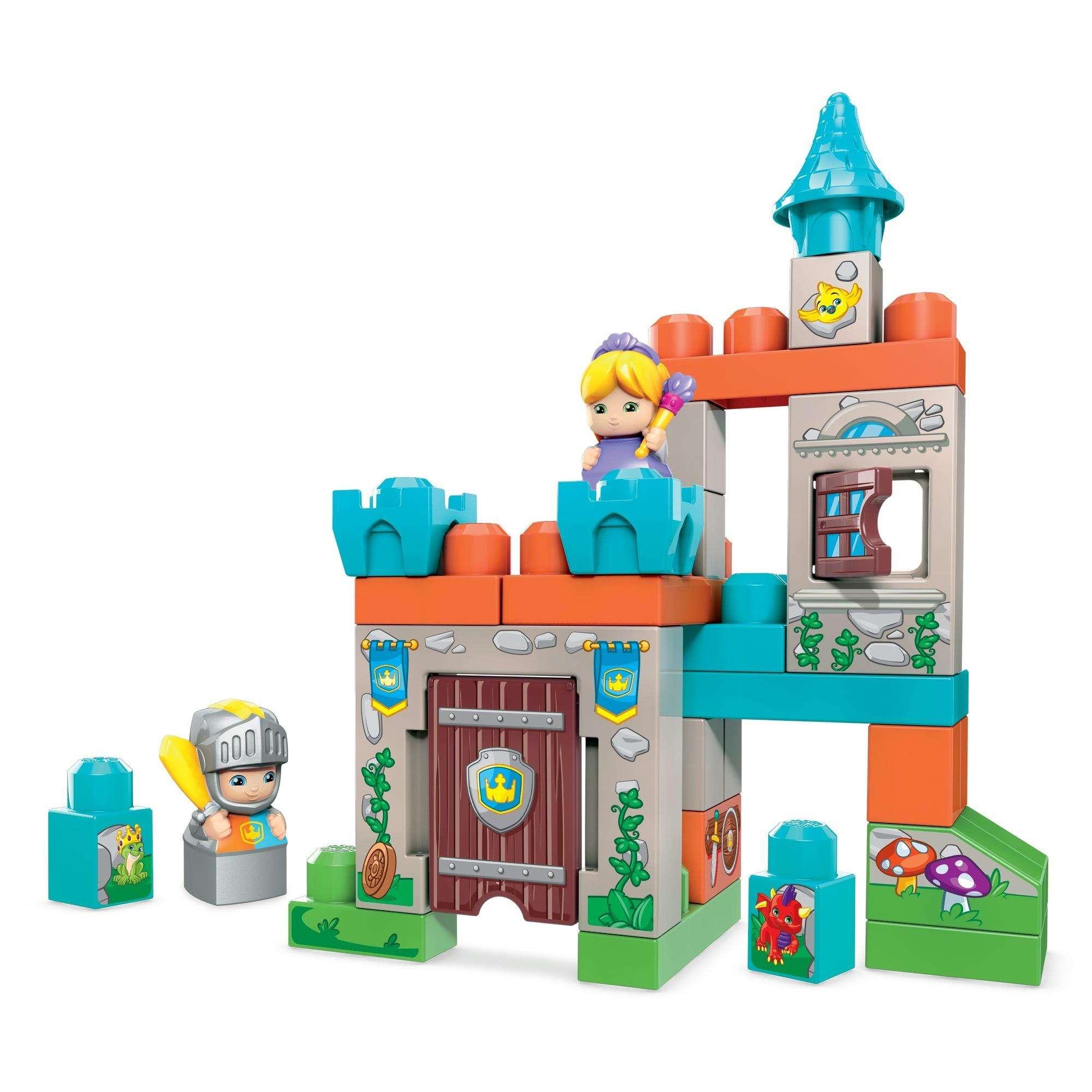 30-Piece Mega Bloks Storytelling Royal Castle $17, Mega Bloks John Deere Lil' Tractor $7.50 & More + Free Shipping w/ Walmart+ or $35+